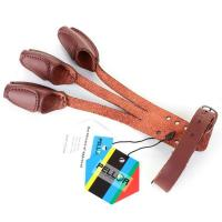 Buy cheap Hunting Pellor Handmade 3 Finger Protect Glove Archery Pull Bow arrow Leather Glove from Wholesalers