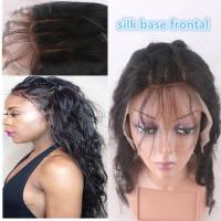 "13""*4"" Silk Base Frontal Closure With Hidden Knot Body Wave hair weave"