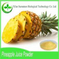 Buy cheap Fruit&Vegetable Extract Pineapple Juice Powder from Wholesalers
