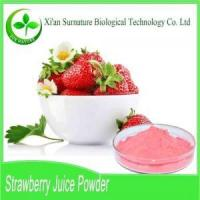 Buy cheap Fruit&Vegetable Extract Strawberry Juice Powder from Wholesalers