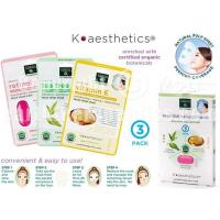 Buy cheap SKIN THERAPY K-aesthetics Organic Essential Beauty Mask - 3 pk from Wholesalers