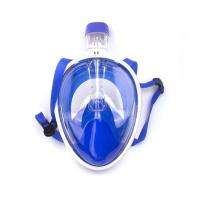 Buy cheap Blue Snorkel Mask Full Face with Gopro from Wholesalers