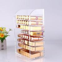 Buy cheap 8 Layer acrylic lipstick display from Wholesalers