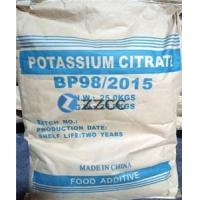 Buy cheap Citric Acid Powder Potassium Citrate Pharmaceutical Grade from Wholesalers