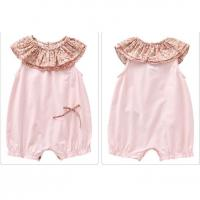 Buy cheap Top soft cotton baby sleeveless vest infant girls rompers from wholesalers