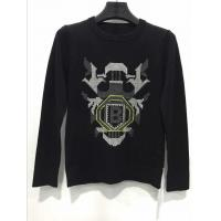 Buy cheap European design 100% cotton crew neck knitted man sweater exporter from wholesalers