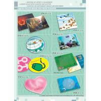 LIQUID FILLED MOUSE PAD WITH FLOATER