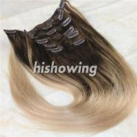 China HAIRS (CLI-C-04) Clip In 2T Color #4&18 factory