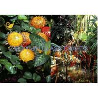 Chihuly Style Hand Made Glass Sculpture For Garden Decoration YJ-15