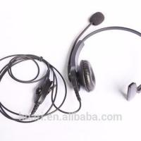Two way radio headset HRE-3535M for MOTO DP2400/2600 XPR3000/3500 P6600