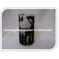 Buy cheap Glass printing Bat flocked glass from Wholesalers