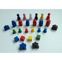 CC412-Wooden Game pawns