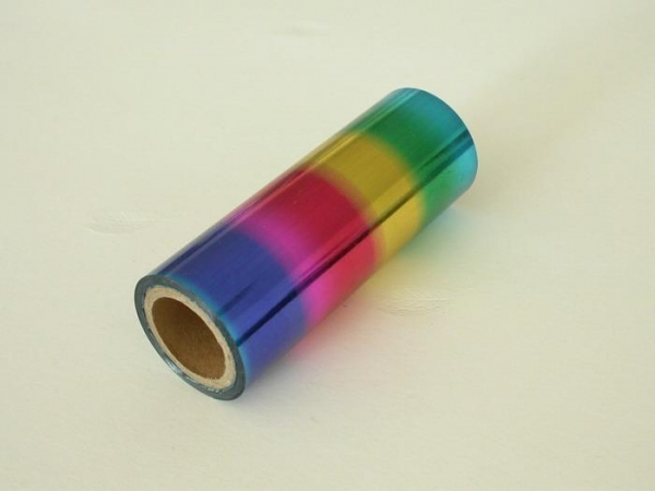 China Multi-color textile foil factory