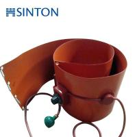 Buy cheap oil drum silicone rubber heater with thermostat from Wholesalers