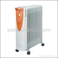 China Portable Electric Office Oil Filled Radiator Heater BO-1008 on sale