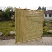 Buy cheap Screw Series Bamboo Fence Panel from Wholesalers