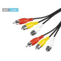 AV Cable&Adapters 3RCA Male to 3RCA Male Audio Cable