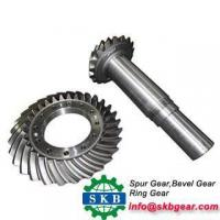 Buy cheap OEM Custom Precision Helical Tooth Bevel Gear from Wholesalers