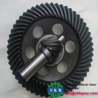 Buy cheap C45 steel hobbing straight bevel gears from Wholesalers