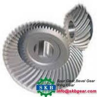 Buy cheap Forge OEM Alloy Steel Spur Bevel Gear from Wholesalers