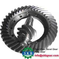 Buy cheap bevel gear and pinion with advanced drive technology from Wholesalers