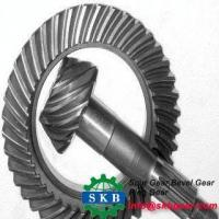 Buy cheap ODM OEM used for commutator right angle 20Cr granding teeth bevel gears from Wholesalers