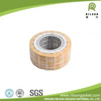 China Spiral Wound Gasket with Graphite PTFE or Mica Filler on sale