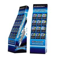 Buy cheap Custom Point of Sale Cardboard Supermarket Floor Display Stand from Wholesalers