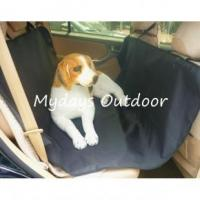 China Pet Dog Seat Cover for Cars Trucks Waterproof Seat Protector with Zipper Dog Seat Cover Protector on sale