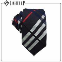 china wholesale custom man silk stripe necktie