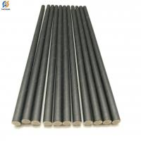 Buy cheap Custom Packing Biodegradable Plain Solid Black Paper Straws from Wholesalers