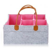 Buy cheap Two-tone Color felt baby diaper caddy organizer from Wholesalers
