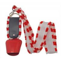 Buy cheap swiss cow bell with lanyard for promotions and sports from Wholesalers