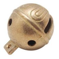 high quality 1 diameter soild brass jingle bells with polishing surface