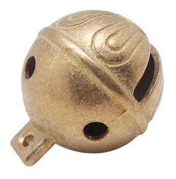 "Quality high quality 1"" diameter soild brass jingle bells with polishing surface for sale"