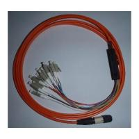 Buy cheap Fiber Optic MPO MTP LC Harness Breakout Patchcable from Wholesalers