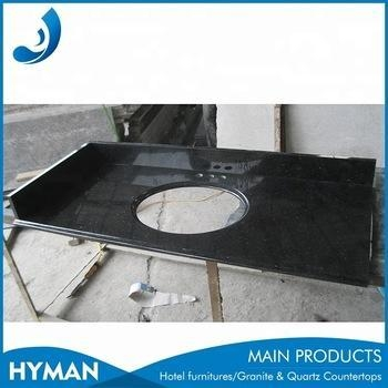 Quality cheap black star galaxy granite kitchen countertop wholesale for sale