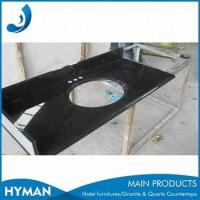 Buy cheap kitchen countertop black galaxy granite from Wholesalers
