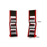 Buy cheap Customized promotional fancy metal wine floor display stand/ dumpbin/ standee from Wholesalers