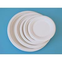Buy cheap Sugarcane-bagasse Round Plate 6 from Wholesalers