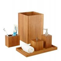 Buy cheap Bamboo Bathroom Accessories, BB008 from Wholesalers
