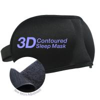 Buy cheap Beauty 2 Pack Velcro Band 3-D Eye Mask from Wholesalers