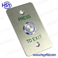 Buy cheap Exit Button Access Control Exit Door Release Button with LED from Wholesalers