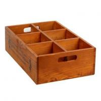 Wooden Storage Boxes With Compartments