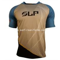 Buy cheap Custom Sublimation Mens T Shirts Sportswear Clothing from wholesalers