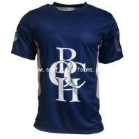 Buy cheap Hot sale economic unisex 100% polyester printed sublimation t shirt from wholesalers