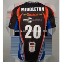 Buy cheap custom dry fit 100 polyester sports wear sublimation t shirt from wholesalers