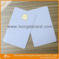 China Contact IC Card FM4442 blank white card factory