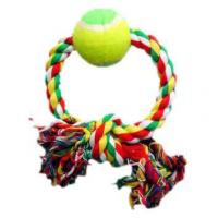 Buy cheap Dog toy Round Dog Rope Toy With Ball 2 from wholesalers