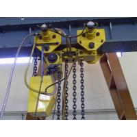 air hoist 20 ton air chain hoist,four chain QN20-4D
